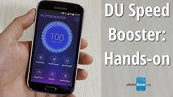 DU Speed Booster for Android: hands-on