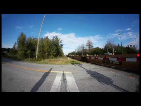 ONE ENGINE, 9,000 FEET! CN 8915 at Newtonville