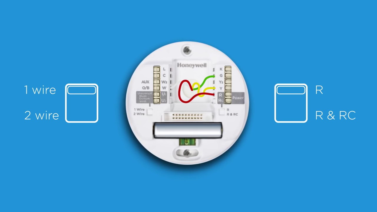how to install your automatic lyric thermostat chapter 3 honeywell home [ 1280 x 720 Pixel ]