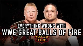 Episode #243: Everything Wrong With WWE Great Balls Of Fire