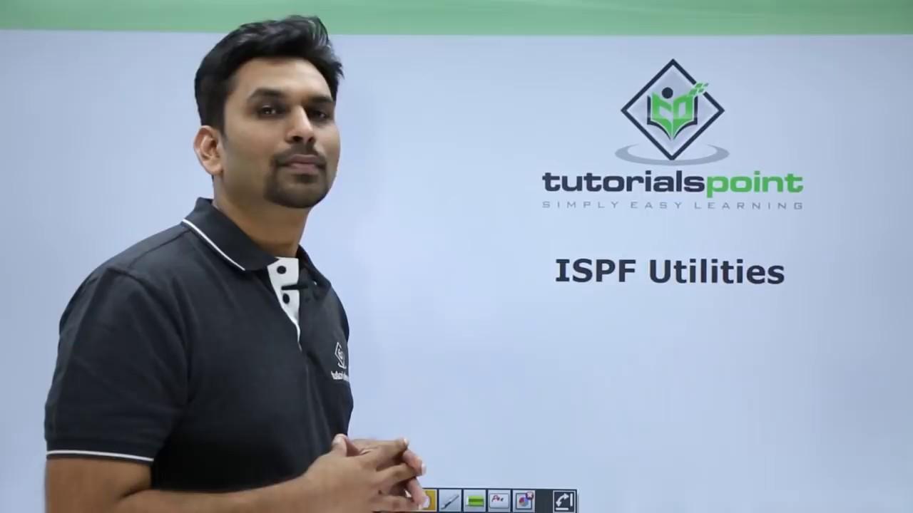 Mainframe - ISPF Utilities