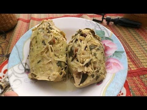#หมกหน่อไม้ใส่ไข่ใส่หมูแซบๆ มากินข้าวนำกันจ้า
