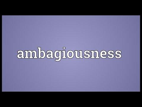 Header of ambagiousness
