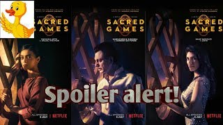 SACRED GAMES :SPOILER ALERT  (IN HINDI)