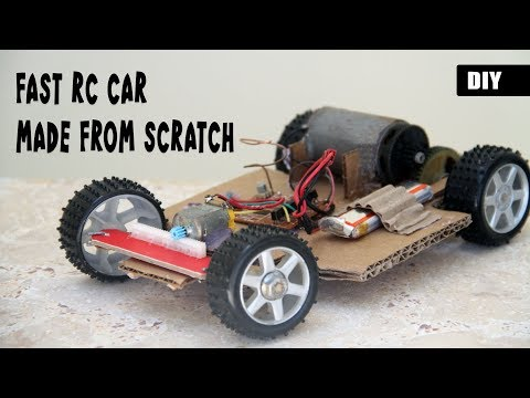 How to make a FAST RC CAR from scratch | DIY Remote