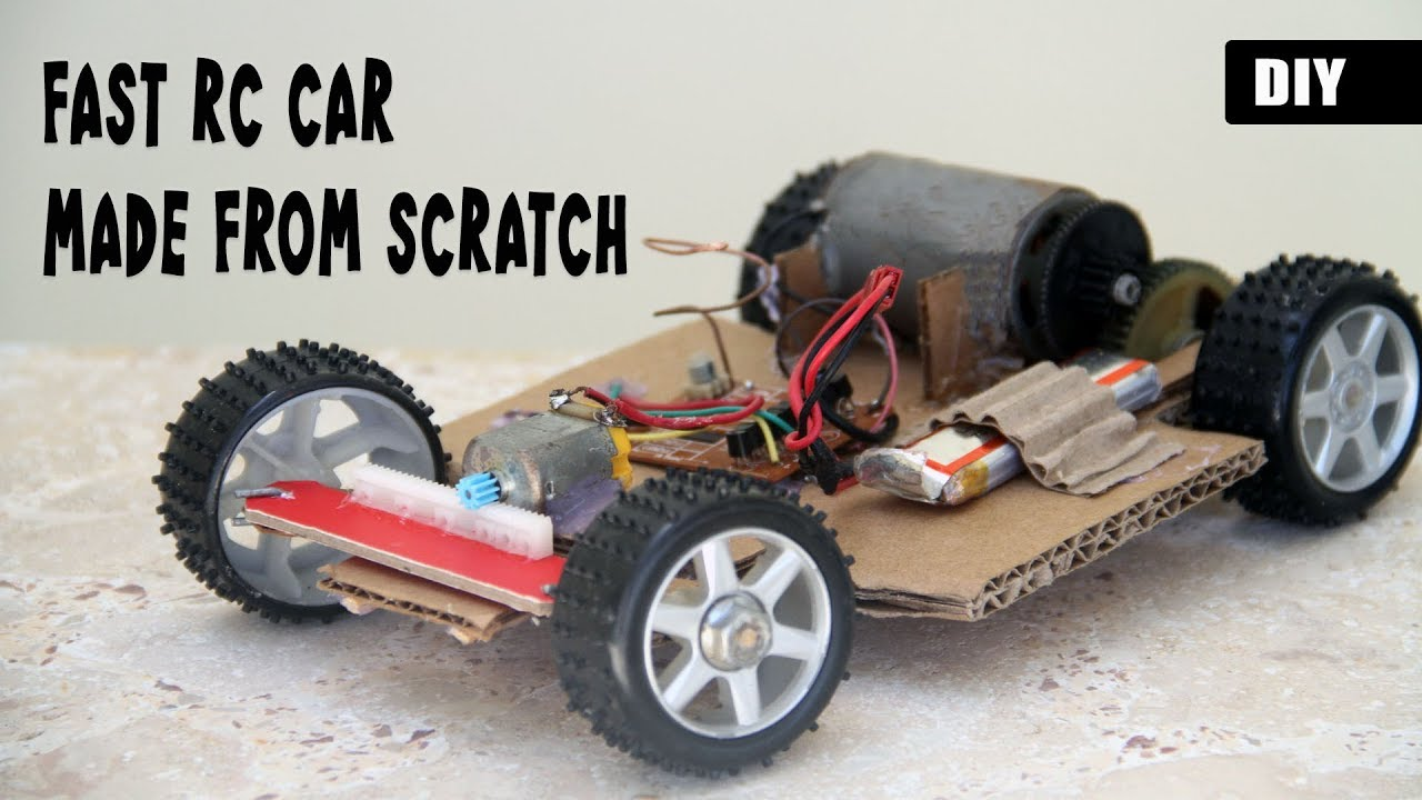 Build Rc Car >> How To Make A Fast Rc Car From Scratch Diy Remote Controlled Vehicle