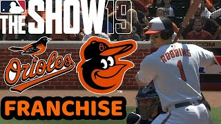 MLB The Show 19 (PS4) Orioles Franchise Season 2023 WS Game 1 vs Nationals - Hall of Fame Difficult