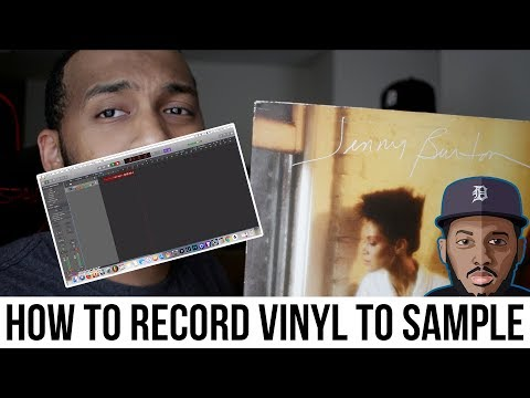 How To Record Samples From Vinyl!