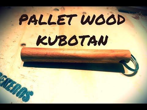 Pallet Wood Kubotan DIY