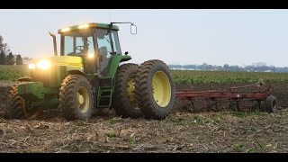 John Deere 7810 with a 6 bottom plow