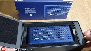 AKG S30 Bluetooth Speaker Portable UNBOXING❗HARMAN Design For SAMSUNG