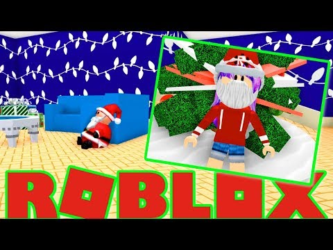 SPENDING ROBUX ON CHRISTMAS DECORATIONS IN ROBLOX MEEP CITY