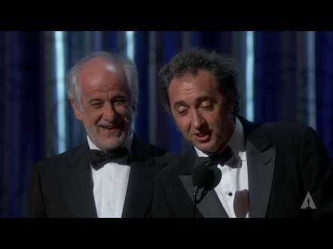 The Great Beauty Wins Foreign Language Film: 2014 Oscars