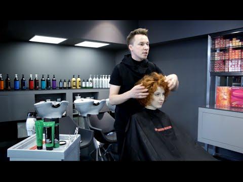 Как сделать стрижку на кудрявых волосах?
