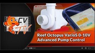 Reef Octopus VarioS 0-10V Advanced Pump Control