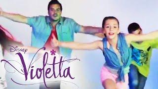 On Beat Dance Tutorial - Tanze wie VIOLETTA - im DISNEY CHANNEL(Bald ist es soweit: Violetta hat sich mit ihrer Musik ins Kino gezaubert und singt sich in