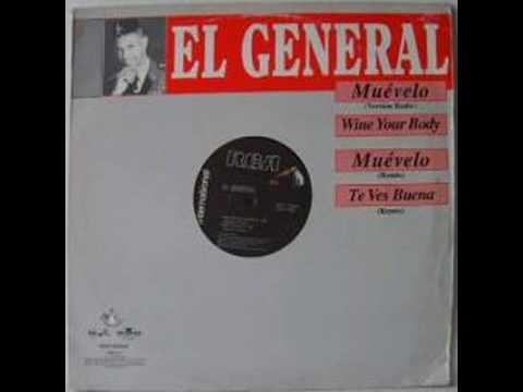 EL General - Muevelo : Erick Morillo remix - Rare!
