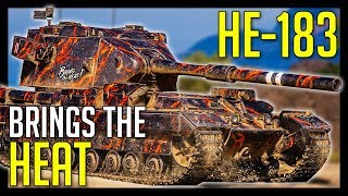 ► HE-183 Brings The HEAT! - World of Tanks FV215b 183 Gameplay
