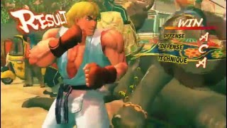 Super Street Fighter 4 Gameplay Pc HD