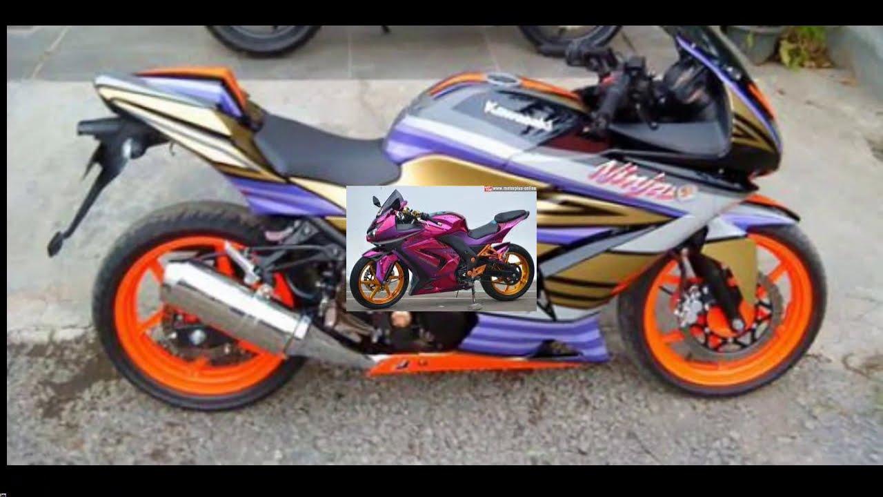 Modifikasi Simple Ninja 250cc Karbu