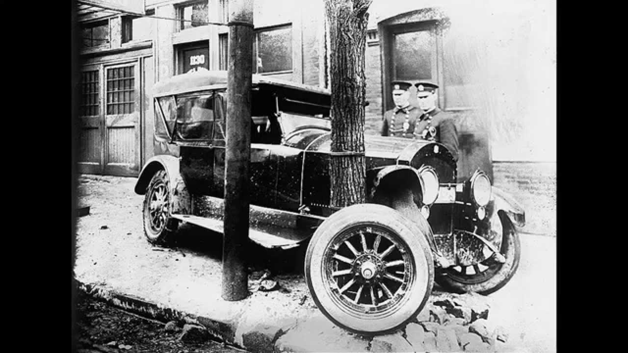 Vintage Car Wrecks Early 1900\'s Washington DC - YouTube