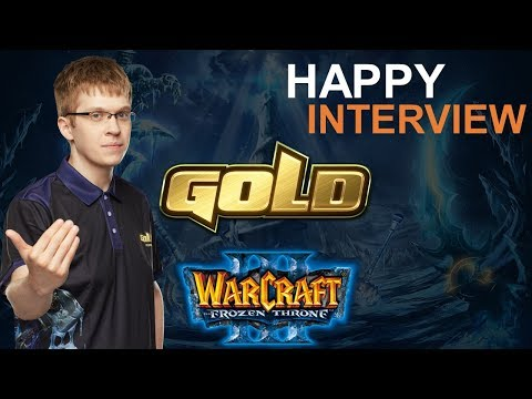 """WC3 - Happy Interview: """"Most Important Is My Stream"""" (WGL Summer '2019)"""