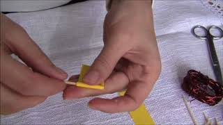 Поделки своими руками  Подснежники из салфеток и бумаги