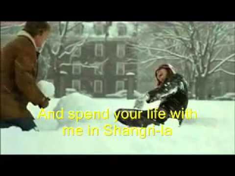 Shangrila .... by The Lettermen  (with scenes from Love Stor