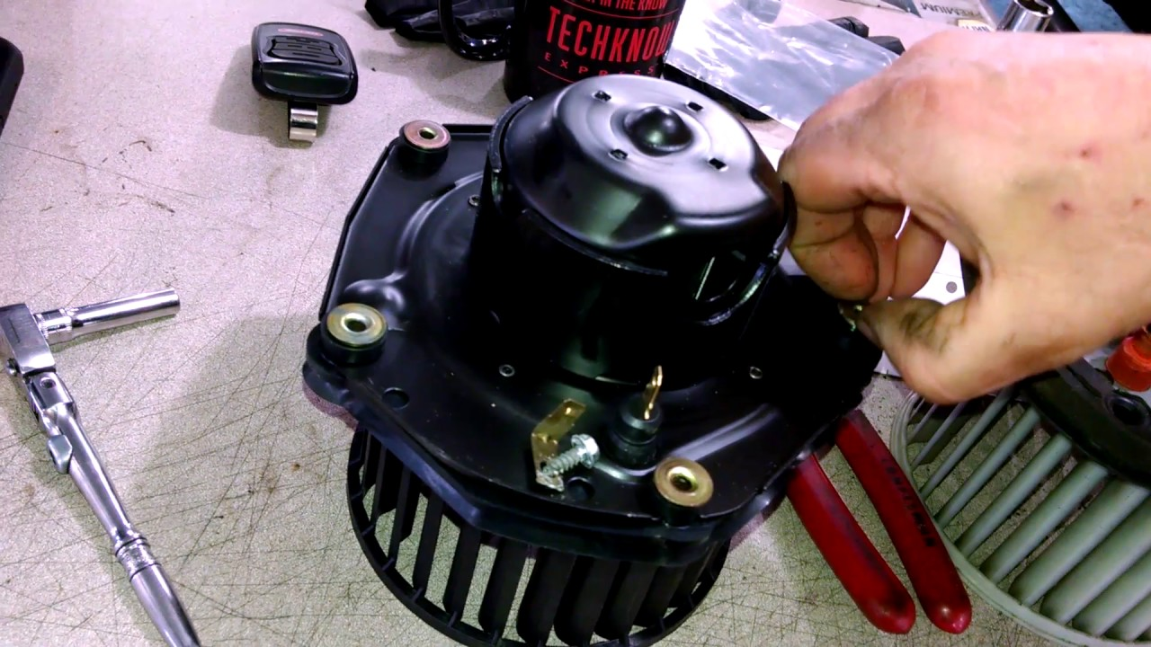 blower motor replacement chevrolet pickup  gmc install