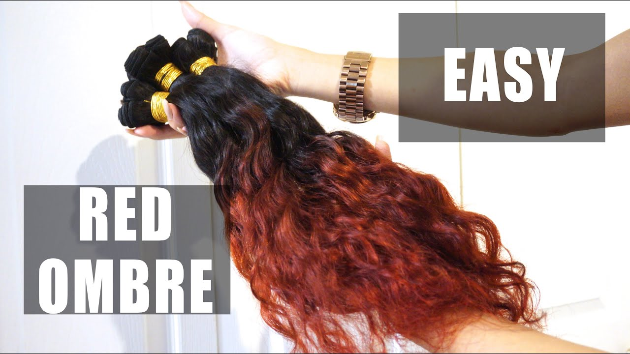 how to bring out the red in hair