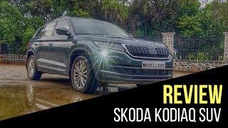 Skoda Kodiaq Road Test Review in India || Cartoq