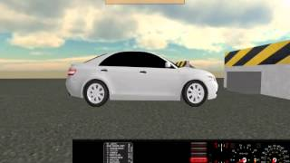 2007 Toyota Camry Crash test 60mph - Rigs of Rods - LGFilms