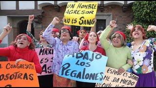 'Las Caperucitas Rojas' elevan su voz y envían este mensaje a la congresista Maritza García