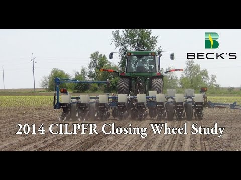 Precision Ag Equipment - Closing Wheel Study - Beck's Hybrids Practical Farm Research (PFR®)