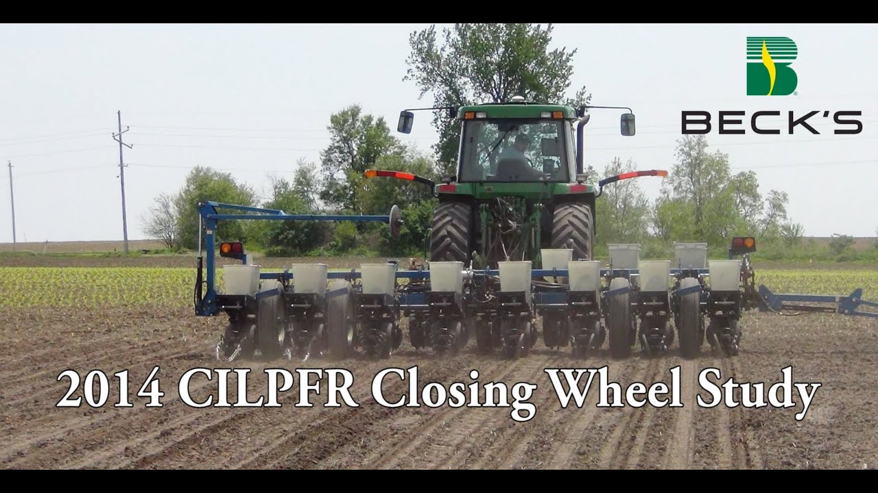 Precision Ag Equipment - Closing Wheel Study - Beck's ...