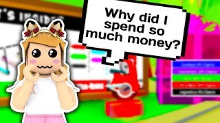 I SPENT 3.500 ROBUX ON GIFTS AND ONLY GOT THIS?! // Roblox Adopt Me // Roblox Funny Moments