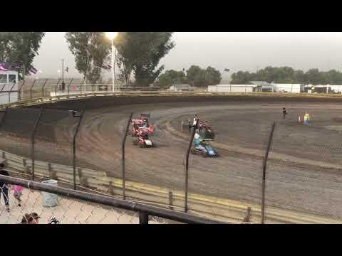 Lemoore Raceway 9/7/19 Jr Sprint Heat- Cash