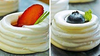 Рецепты безе, меренги, и других необычных десертов | Своими руками