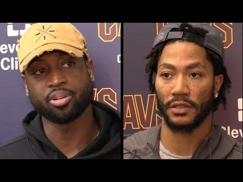 Dwyane Wade, Derrick Rose on starting with LeBron James for Cavs