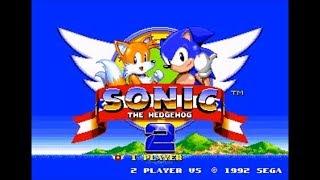 Sonic 2 Recreation Demo (Genesis) - Walkthrough