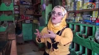 امل ..مصرية من قصار القامة تتحدي الجرارات الثقلية