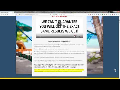 Hammock Suite Review Demo How It Works  Plus Review Neverbefore released YouTube ad targeting
