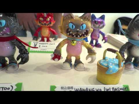 Tokyo Cat Fight Toy Show