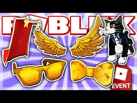 HOW TO GET ALL 5 PRIZES in BLOXY EVENT 2019!! (Roblox: The 6th Annual Bloxys)