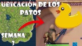 PATOS DE GOMA EN INDUSTRIAS INODORAS (MISION)-FORTNITE*BATTLE ROYALE*OCULTOS