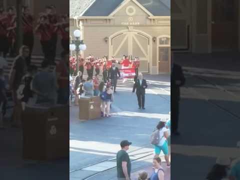 Muskego High School Marching Band at Magic Kingdom