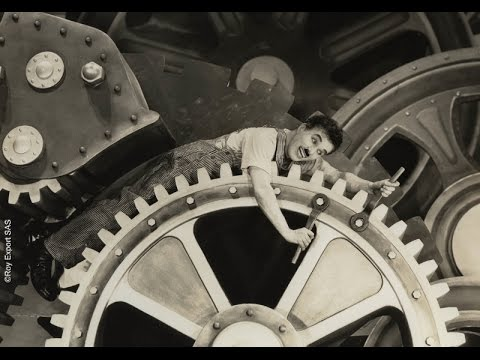 Image result for charlie chaplin in the machine