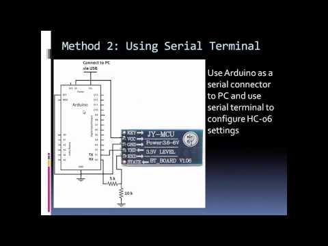 Configurar el mdulo Bluetooth HC-06 Tutoriales Arduino