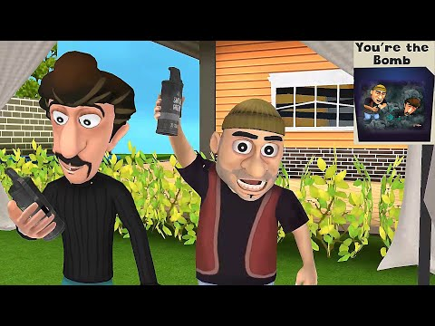 Scary Robber Home Clash - Stealing The Show   You're the bomb   New Levels New Update - GamePlay  