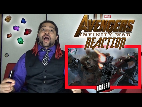 Avengers: Infinity War First Look - REACTION, REVIEW & INFINITY STONES TALK!